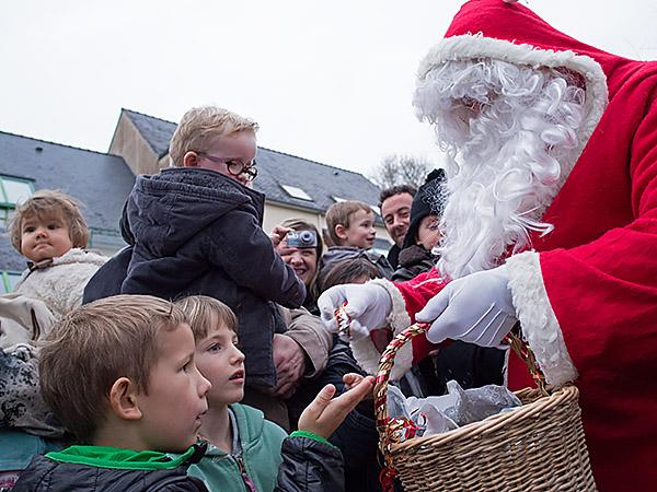 20 décembre 2014 : Passage du Père Noël
