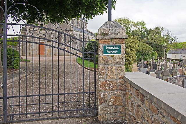 Cimetière de La Forest : Tombe de guerre du Commonwealth