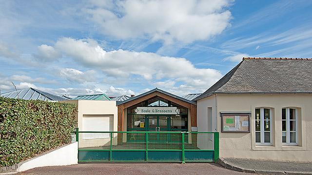 La Forest-Landerneau - École publique Georges Brassens