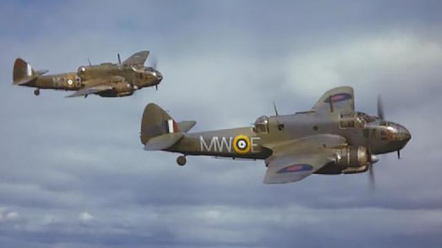 Bristol Beaufort du 217 Squadron en vol