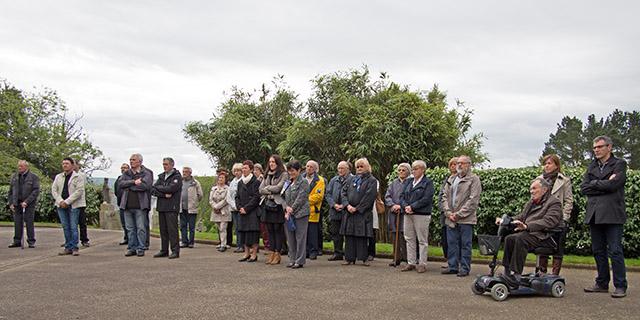 La Forest-Landerneau, 8 mai 2015 : 70ème anniversaire de la Victoire de 1945