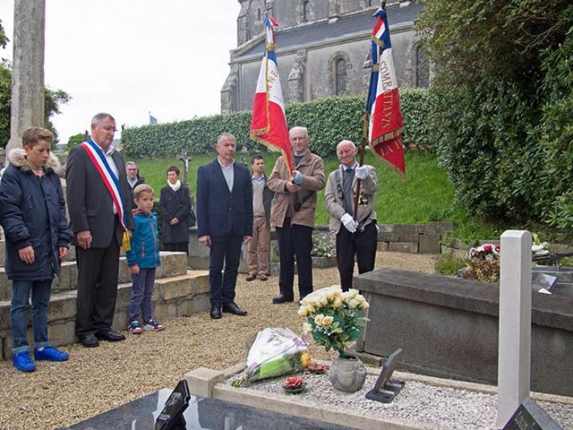 8 mai 2015 : hommage à J.F.J. SHERIDAN
