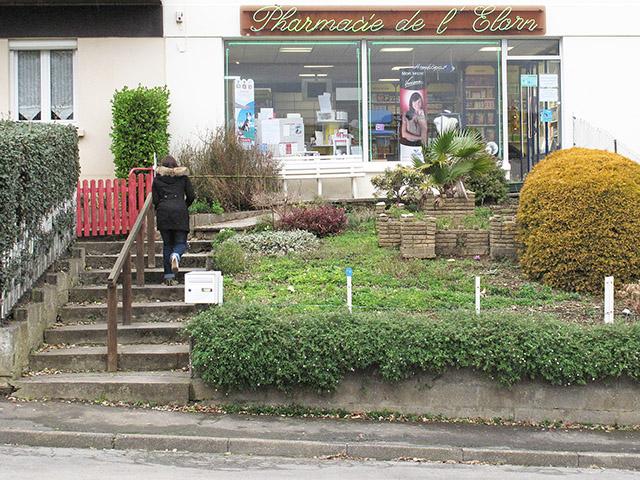 25 janvier 2012 : l'ancienne pharmacie