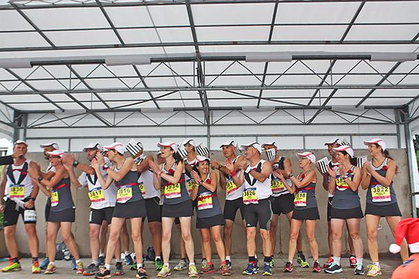 Marathon du Médoc 2015 - La Forest à petites foulées