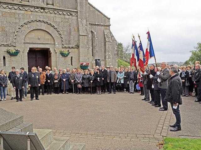 La Forest-Landerneau - Commémoration de l'armistice du 11 novembre 1918
