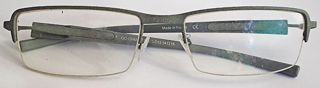 Objets trouvés : lunettes