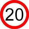 20 km/h