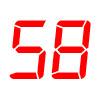 58 km/h