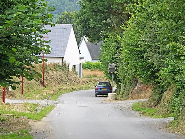 Contrôle de vitesse route de Penquer