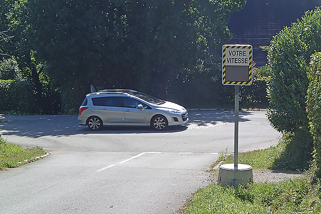 Contrôle de vitesse rue de Stréat Nevez