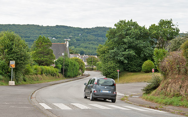 Contrôle de vitesse rue du Château