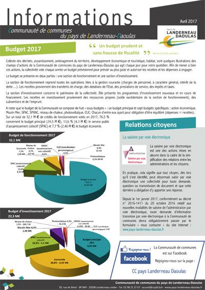 CCPLD Info - Avril 2017