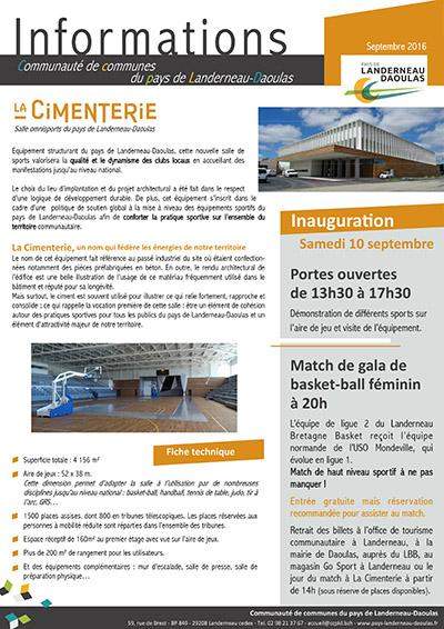 CCPLD Info - Septembre 2016