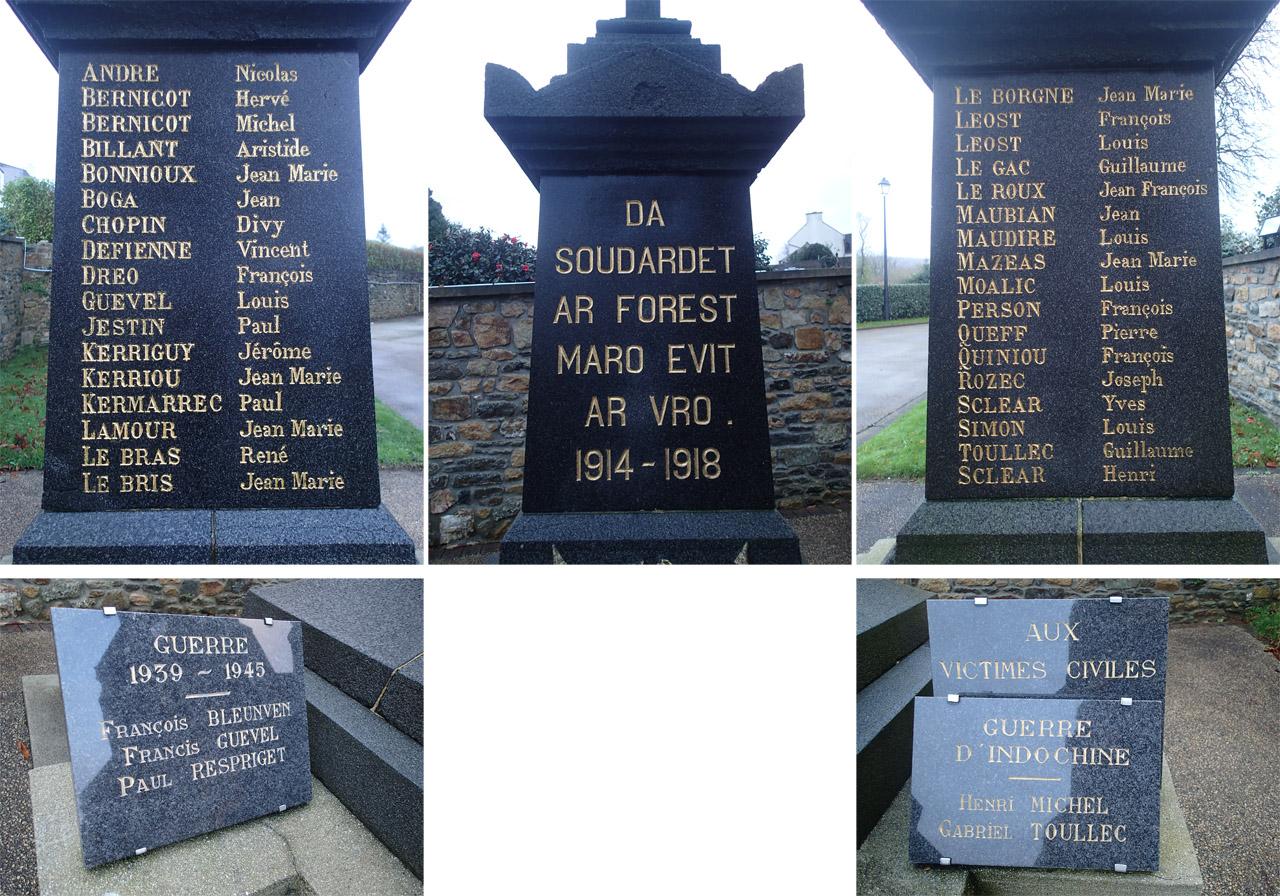 Monument aux morts de La Forest-Landerneau