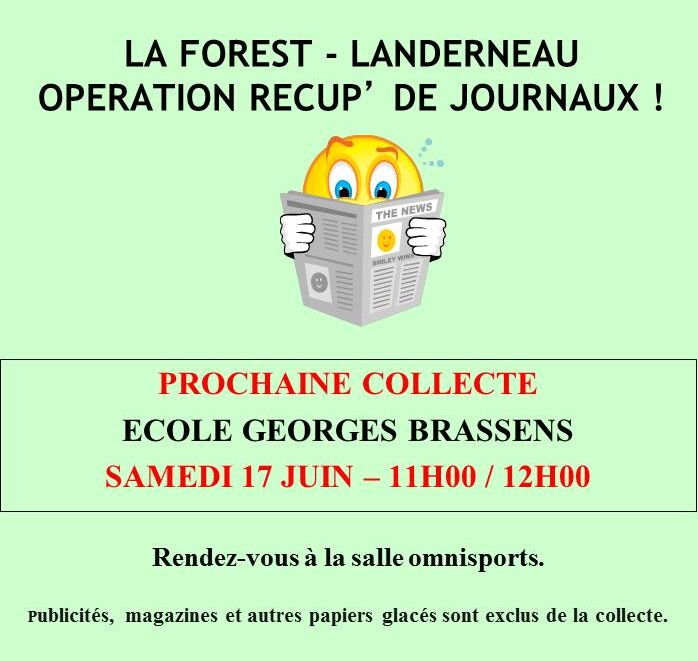 Récupération de journaux