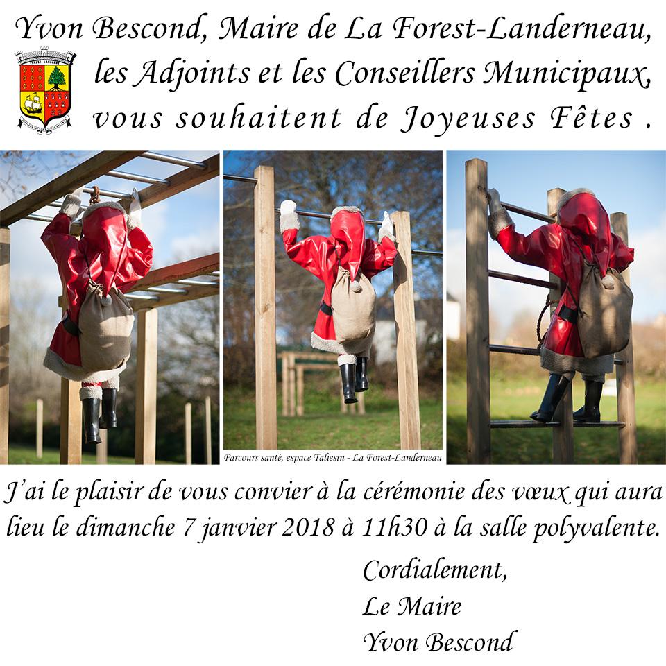 Vœux 2018 - Parcours Santé, espace Taliesin - La Forest-Landerneau