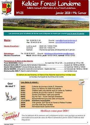 Keleier La Forest-Landerneau, janvier 2020