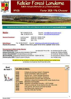 Keleier La Forest-Landerneau, février 2020