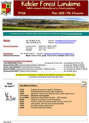 Keleier La Forest-Landerneau, mars 2020
