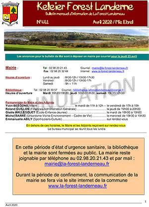 Keleier La Forest-Landerneau, avril 2020