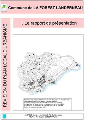 Rapport de présentation