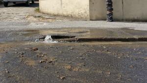 Rupture de canalisation